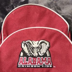 Sportsclub red Alabama backpack for kids